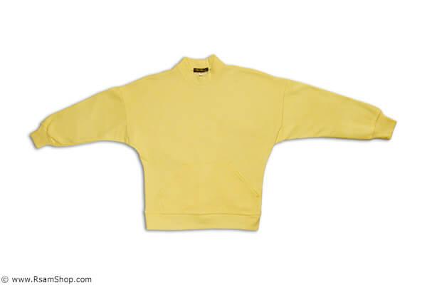 ست دورس و شلوار زرد