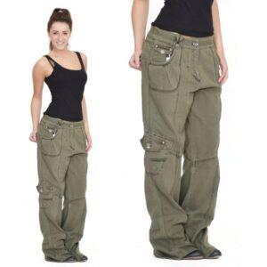 شلوار زنانه شش جیب , شلوار لش