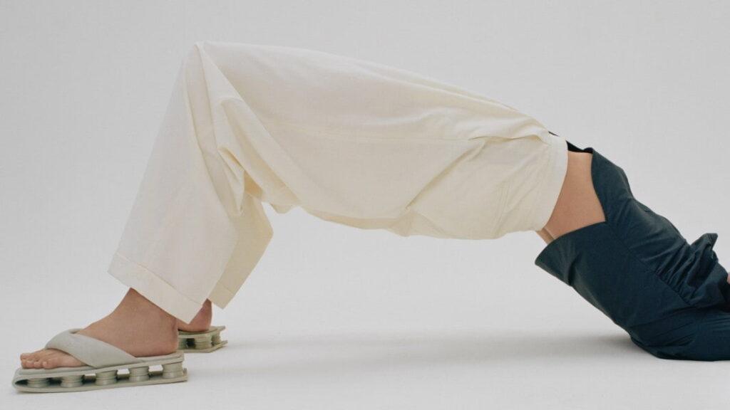 شلوار زنانه پارچه ای راسته پاکتی چیست؟